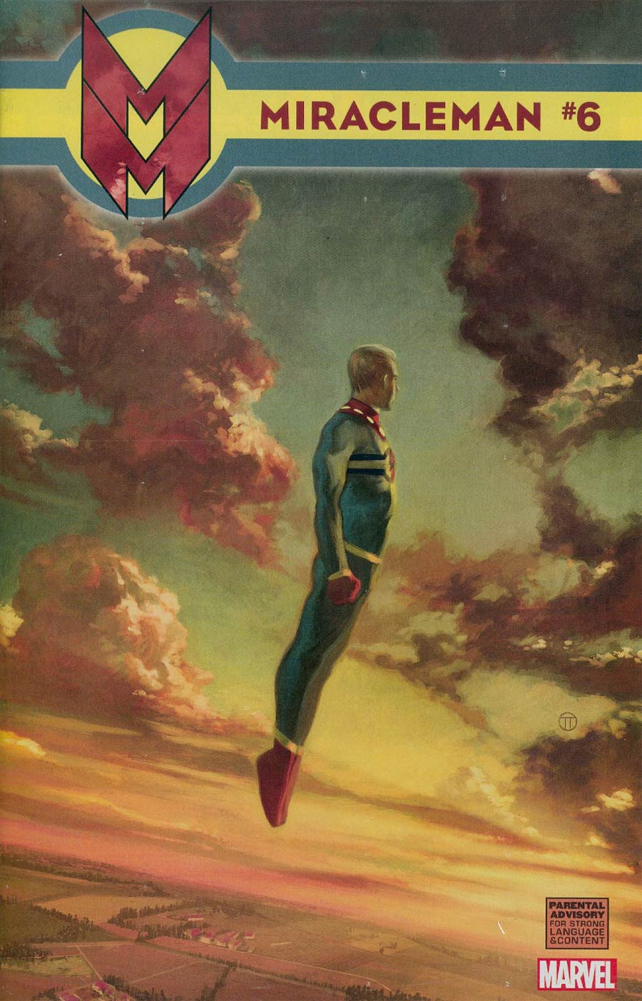 Miracleman (Marvel) #6 Cover H Incentive Julian Totino Tedesco Variant Cover Without Polybag