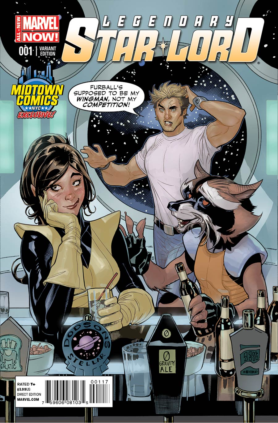 Legendary Star-Lord #1 Cover B Midtown Exclusive Terry Dodson Variant Cover