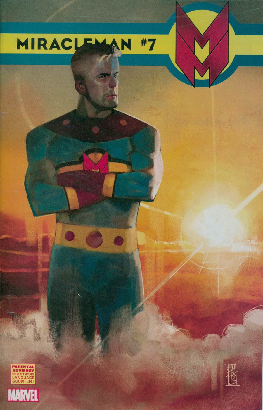 Miracleman (Marvel) #7 Cover C Incentive Alex Maleev Variant Cover With Polybag