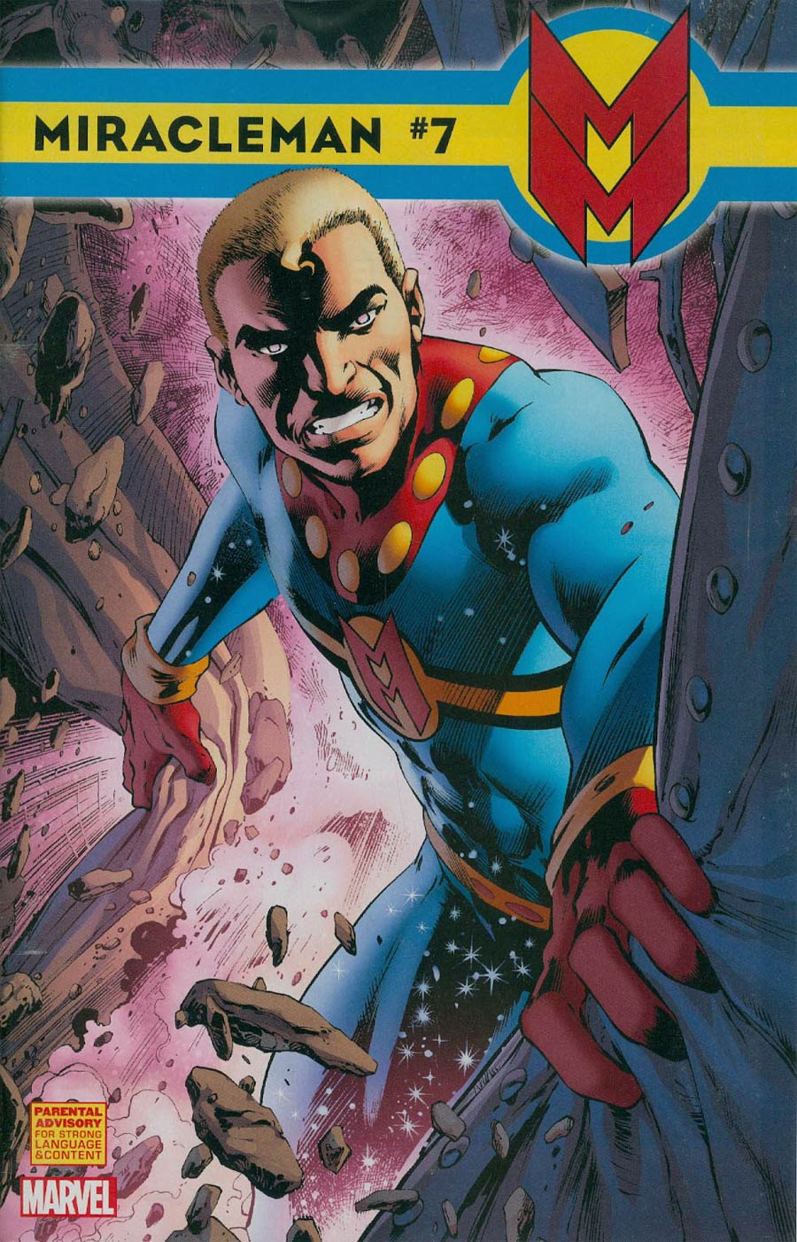 Miracleman (Marvel) #7 Cover D Incentive Alan Davis Variant Cover With Polybag