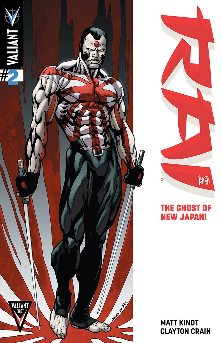 Rai Vol 2 #2 Cover D Incentive Bart Sears Variant Cover