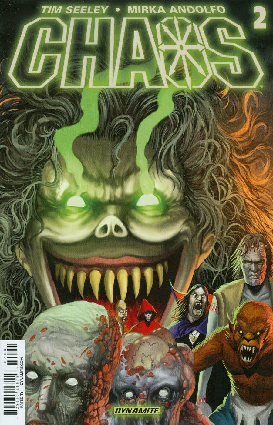 Chaos #2 Cover E Variant Walter Flanagan Reorder Cover