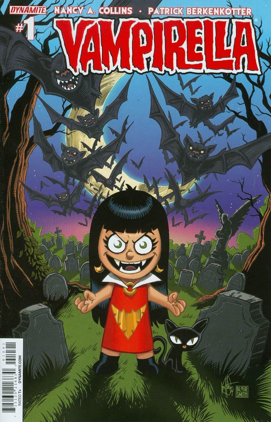 Vampirella Vol 5 #1 Cover O Incentive Ken Haeser Lil Vampi Variant Cover