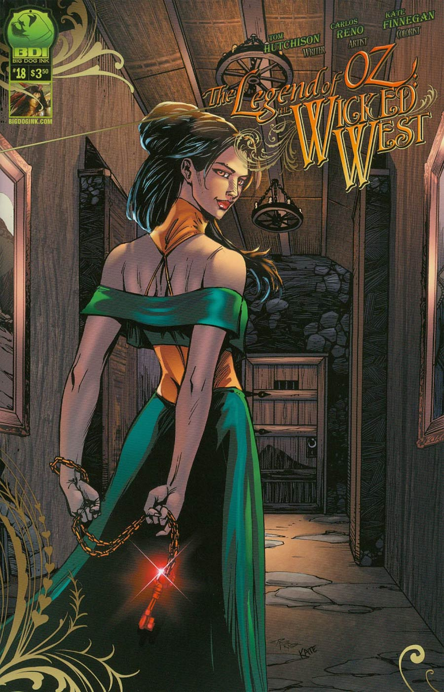 Legend Of Oz The Wicked West Vol 2 #18 Cover A Alisson Borges