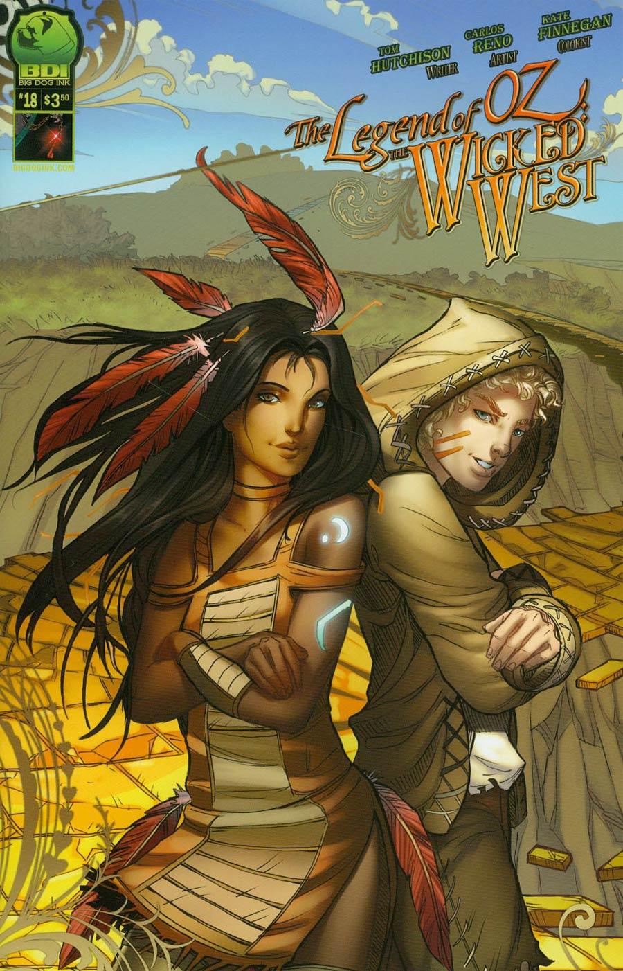 Legend Of Oz The Wicked West Vol 2 #18 Cover B Nei Ruffino
