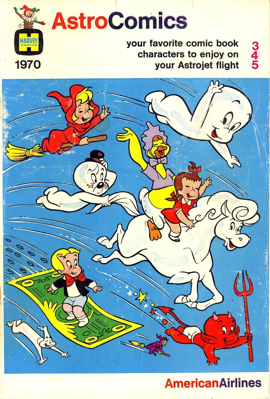 Astro Comics 1970 Am Air Giveaway #345