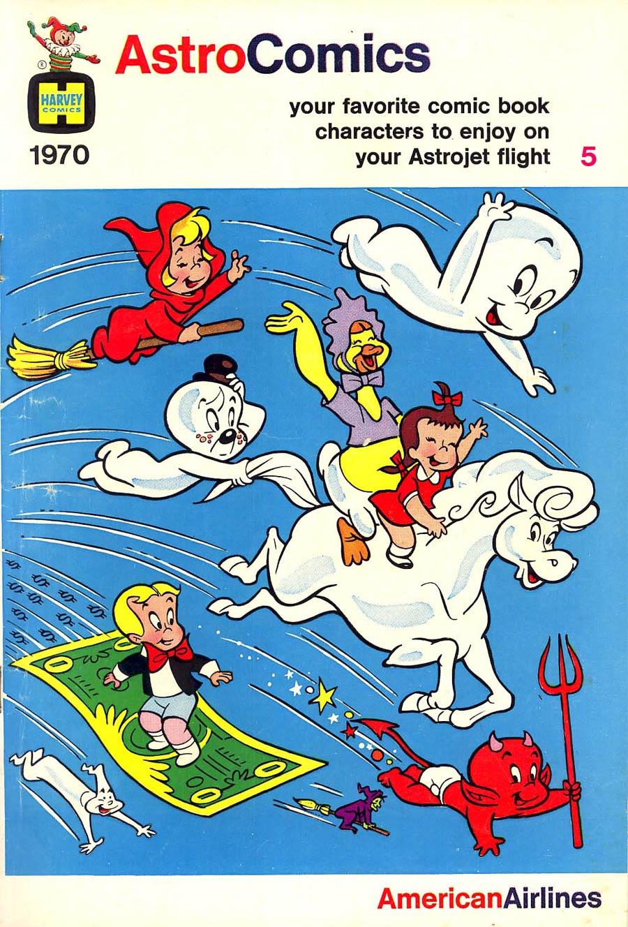Astro Comics 1970 Am Air Giveaway #5