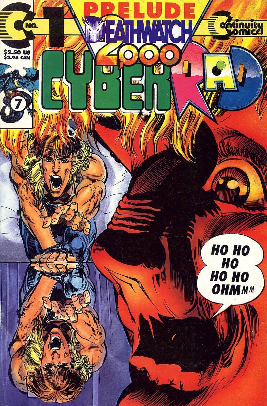 Cyberrad Deathwatch 2000 #1 no polybag