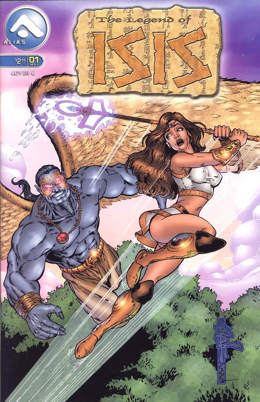 Legend Of Isis #1 Cvr C