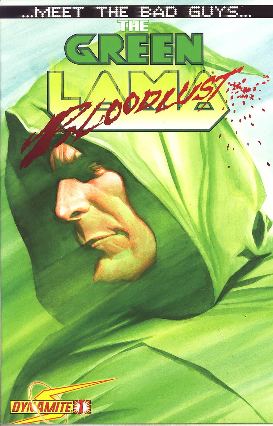 Project Superpowers Meet The Bad Guys #1 Cover B Incentive Alex Ross