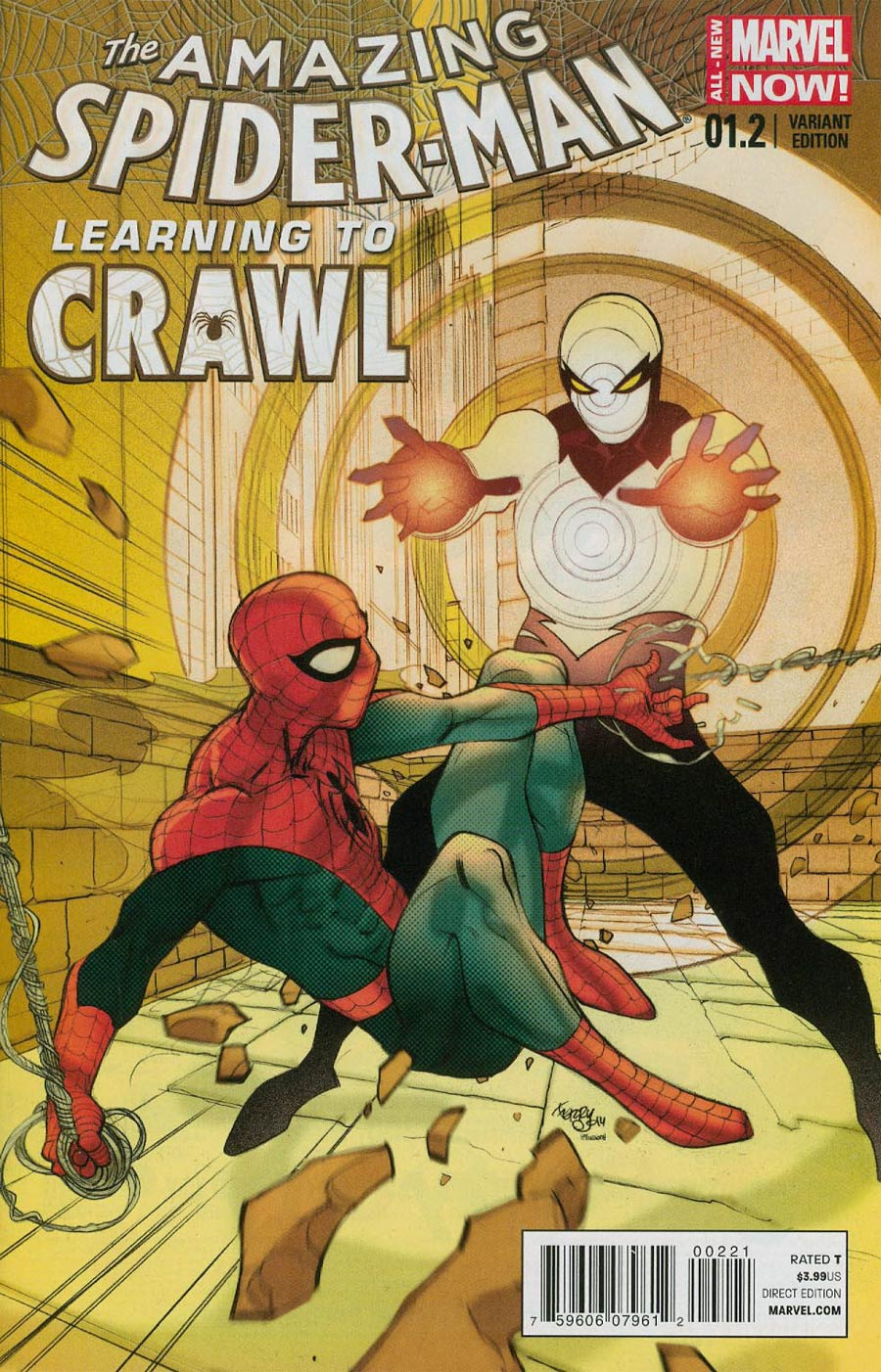 Amazing Spider-Man Vol 3 #1.2 Cover B Incentive Pasqual Ferry Variant Cover