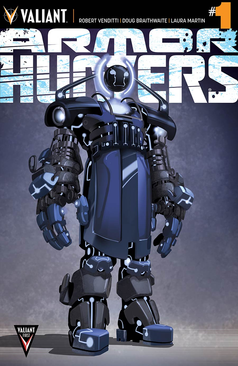 Armor Hunters #1 Cover E Incentive Clayton Crain Design Variant Cover