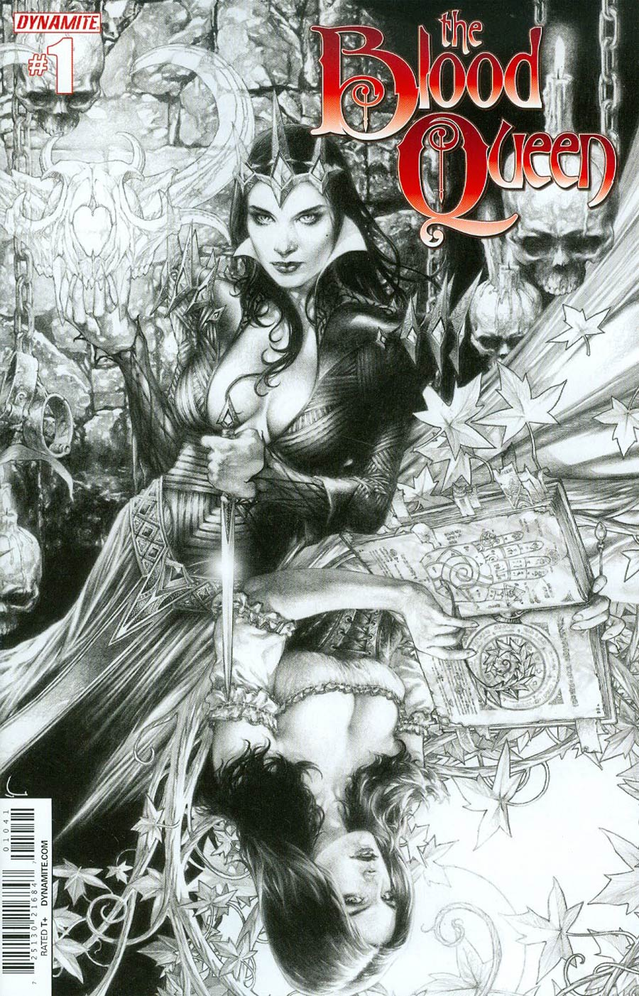 Blood Queen #1 Cover I Incentive Jay Anacleto Black & White Cover