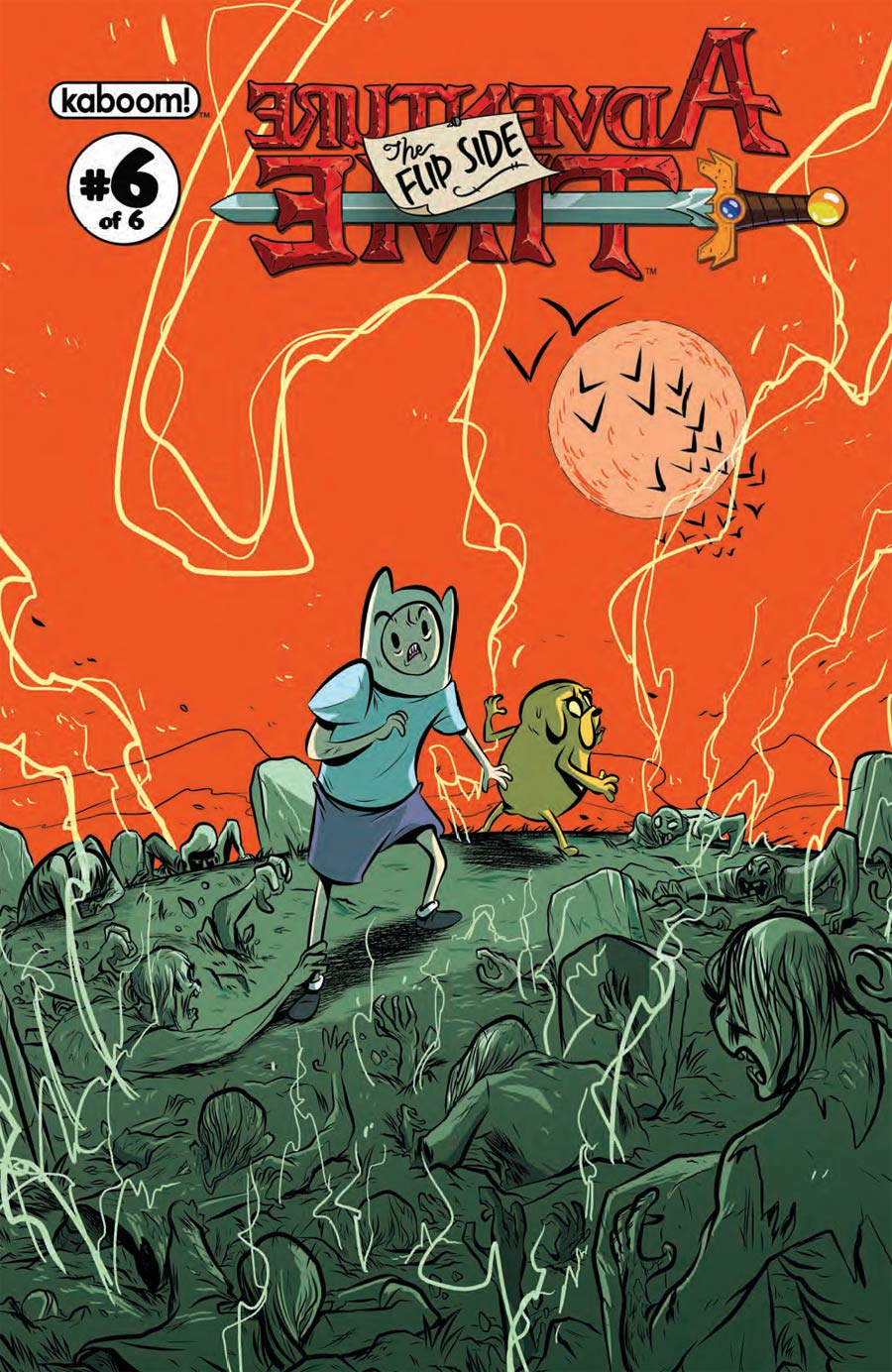 Adventure Time Flip Side #6 Cover A Regular Wook Jin Clark Cover