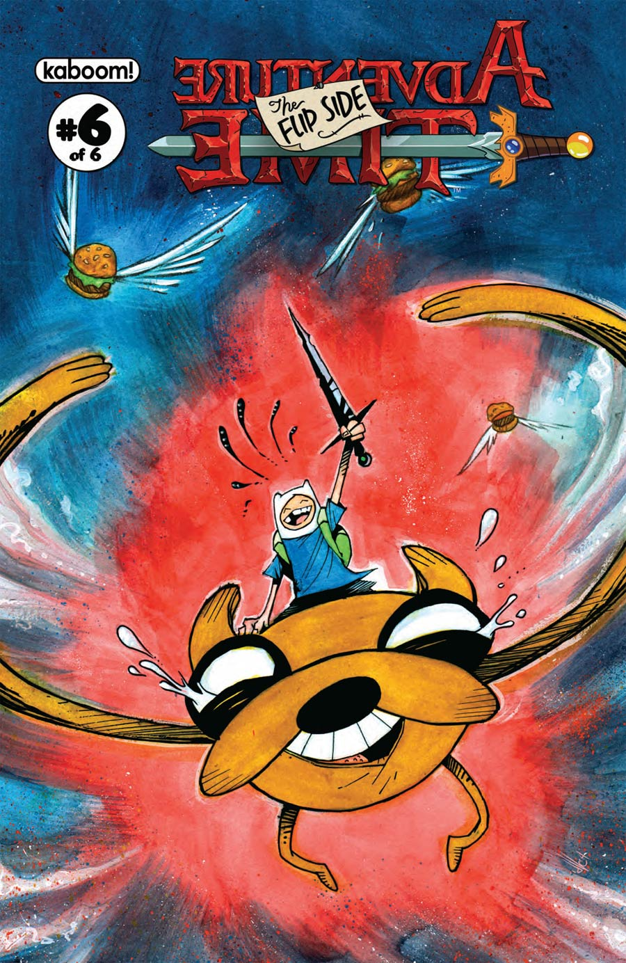Adventure Time Flip Side #6 Cover B Regular Dave Crosland Cover