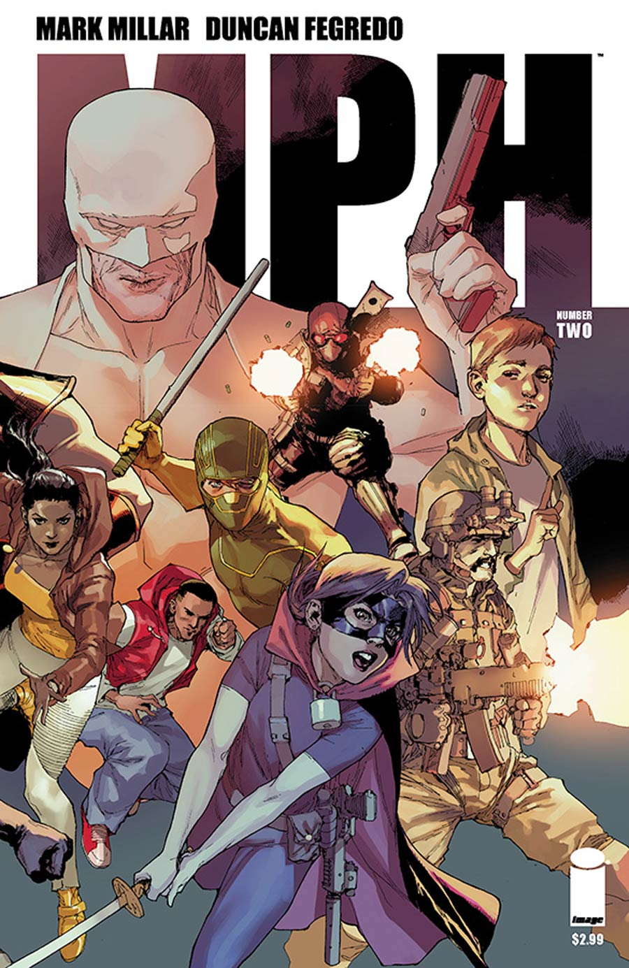 MPH #2 Cover D Variant Leinil Francis Yu Cover