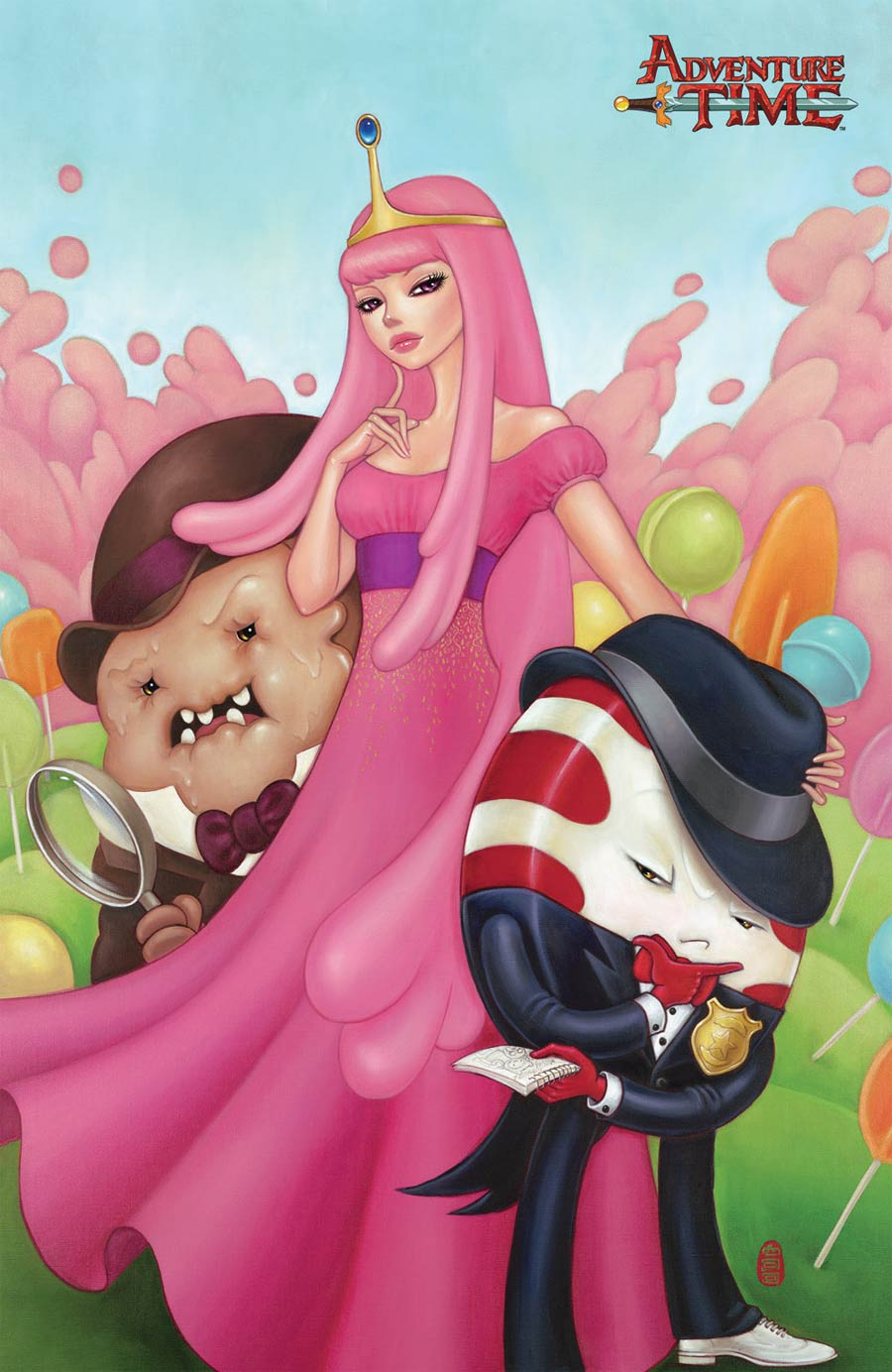 Adventure Time #29 Cover C Incentive Mimi Yoon Virgin Variant Cover