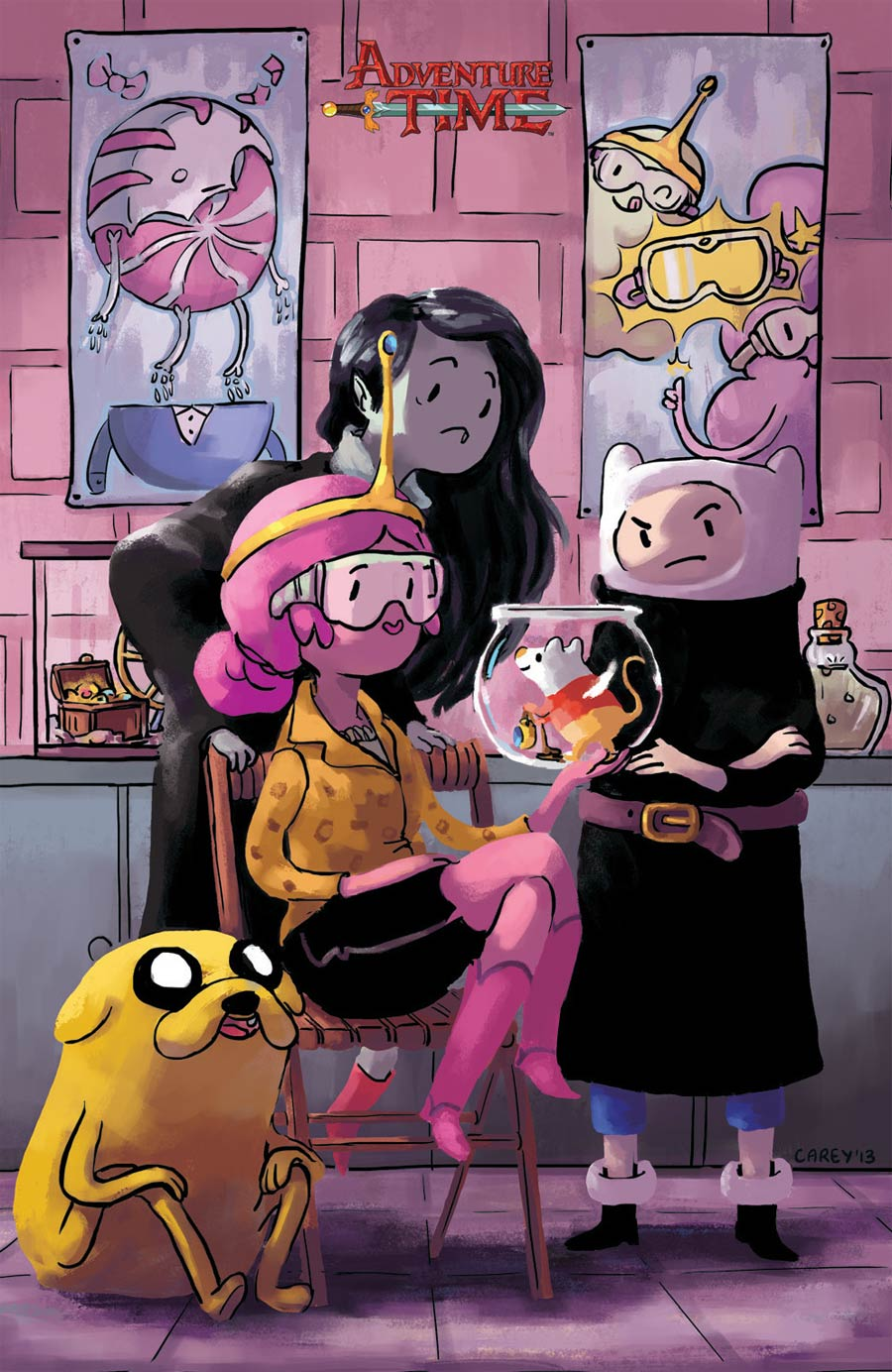Adventure Time #29 Cover D Incentive Carey Pietsch Virgin Variant Cover