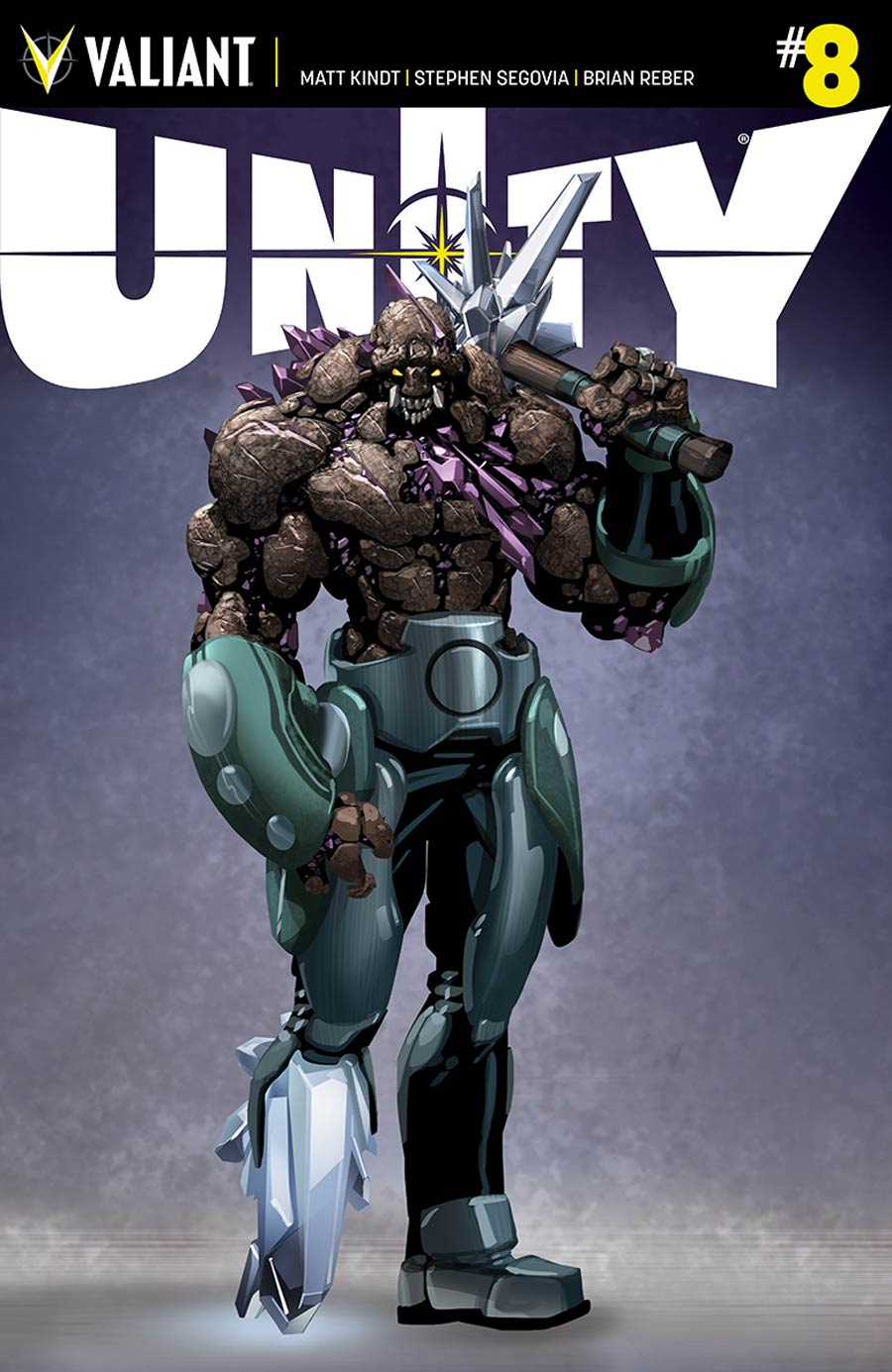 Unity Vol 2 #8 Cover D Incentive Clayton Crain Design Variant Cover (Armor Hunters Tie-In)