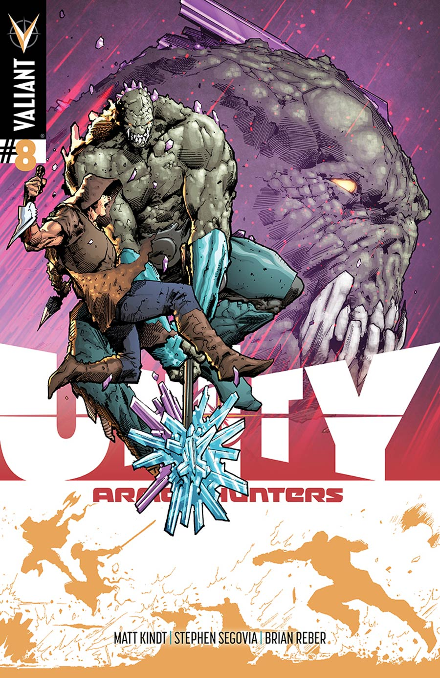 Unity Vol 2 #8 Cover E Incentive Trevor Hairsine Armor Hunters Variant Cover (Armor Hunters Tie-In)