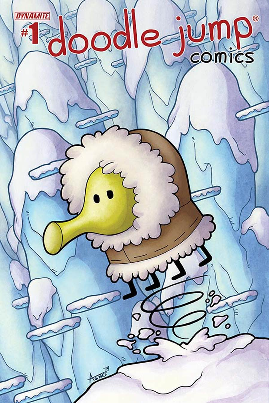 Doodle Jump #1 Cover G Incentive Agnes Garbowska Variant Cover