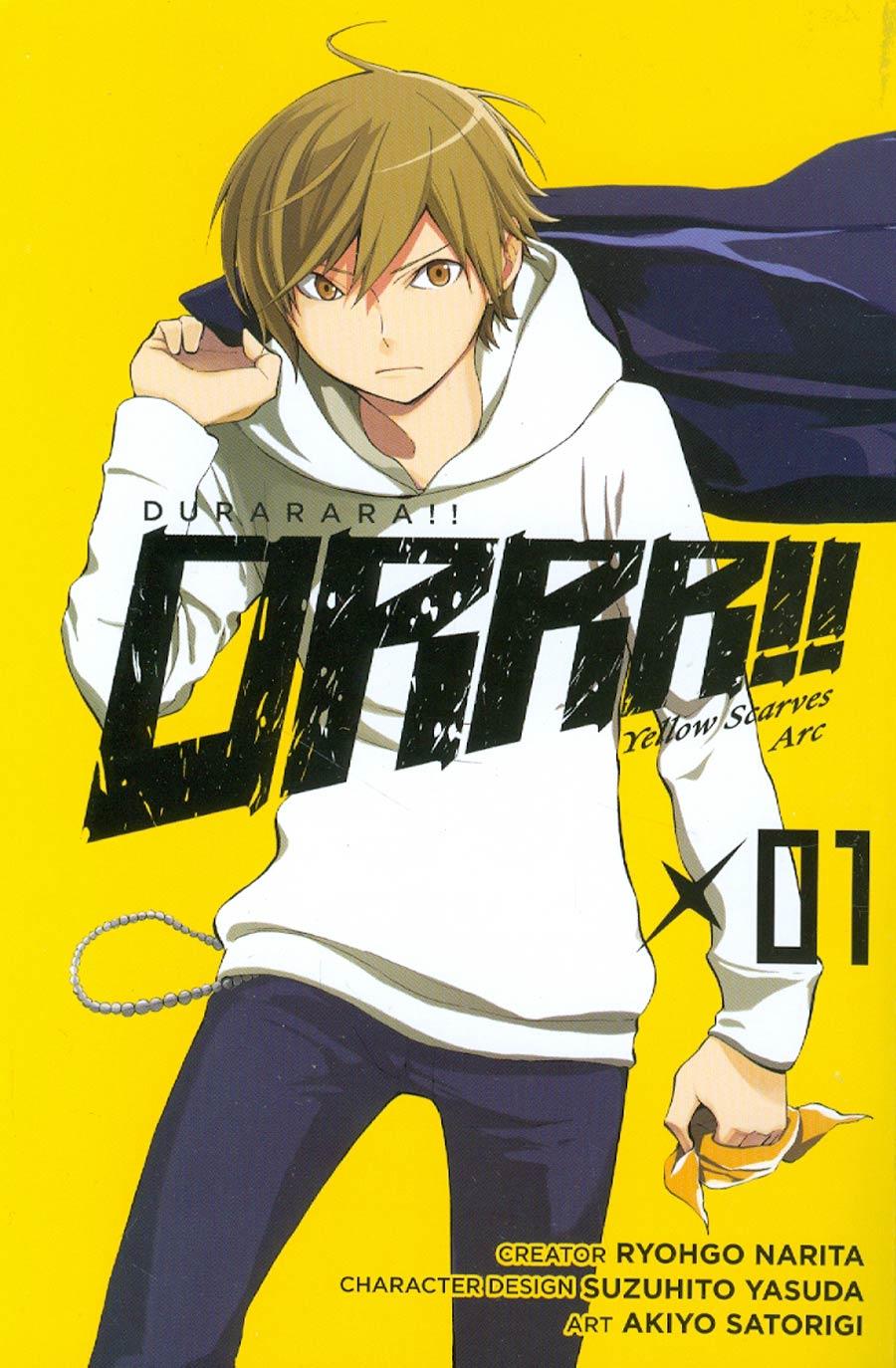 Durarara Yellow Scarves Arc Vol 1 TP