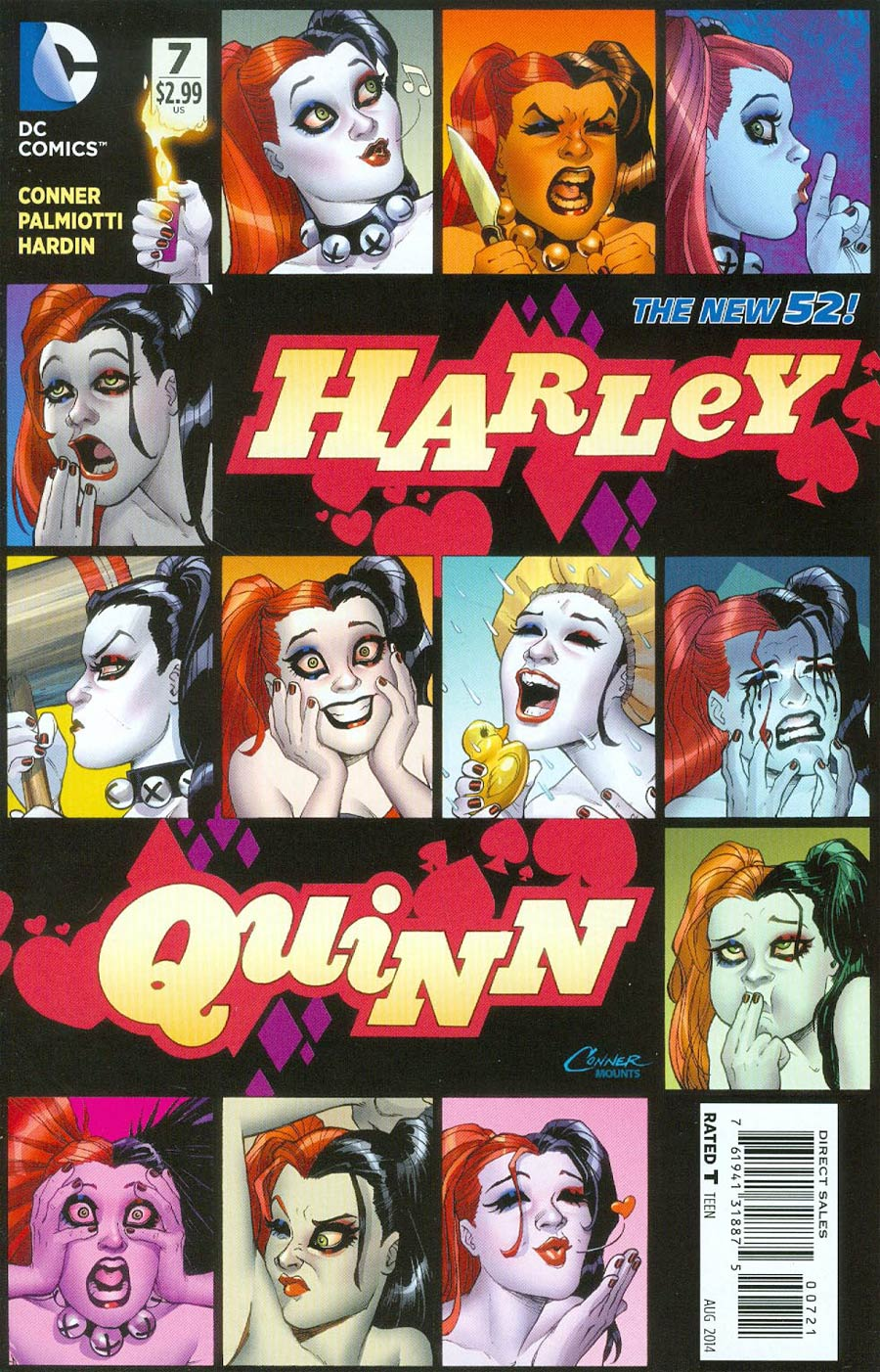 Harley Quinn Vol 2 #7 Cover C Incentive Amanda Conner Variant Cover