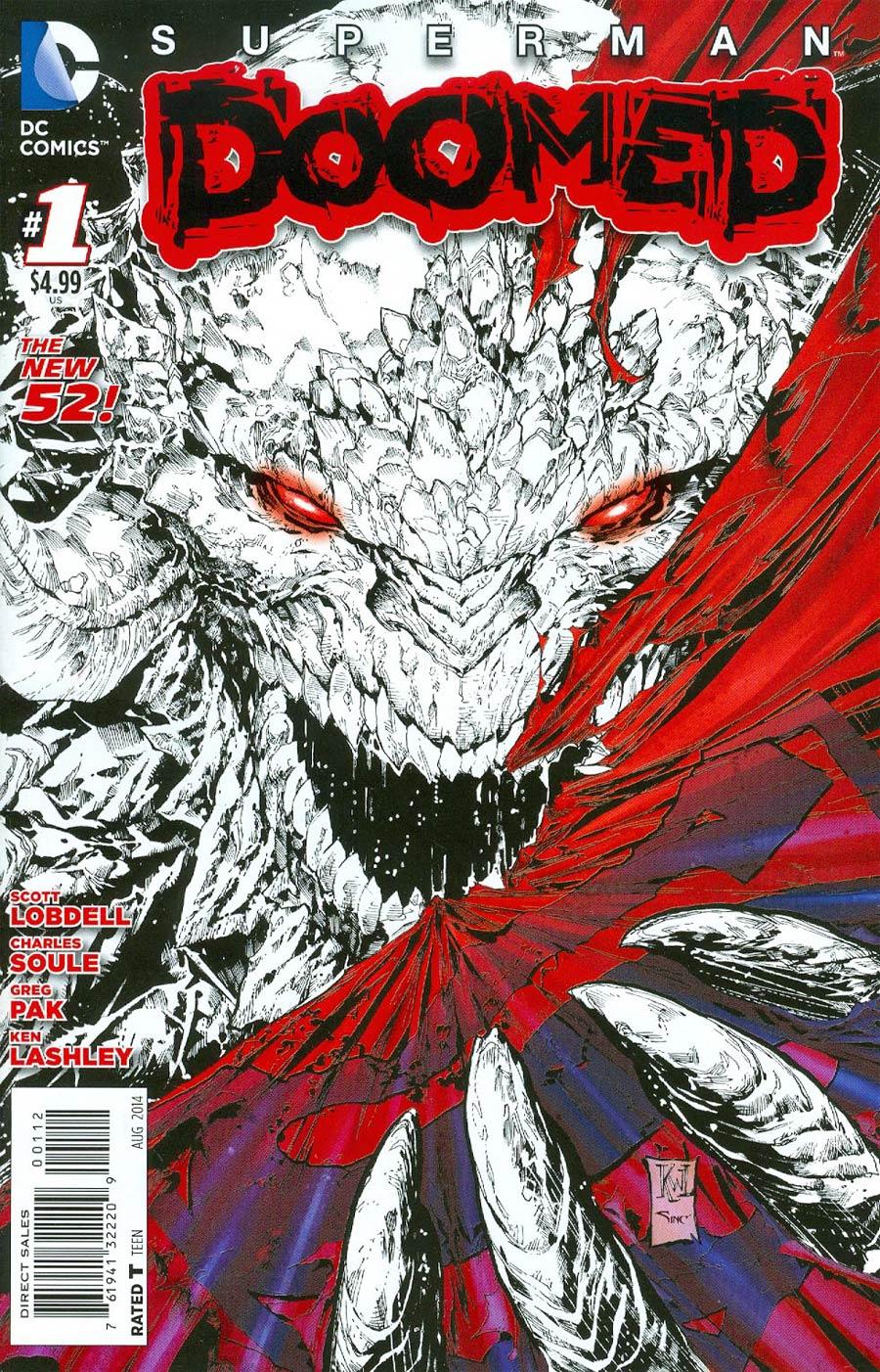 Superman Doomed #1 Cover D 2nd Ptg Ken Lashley Variant Cover