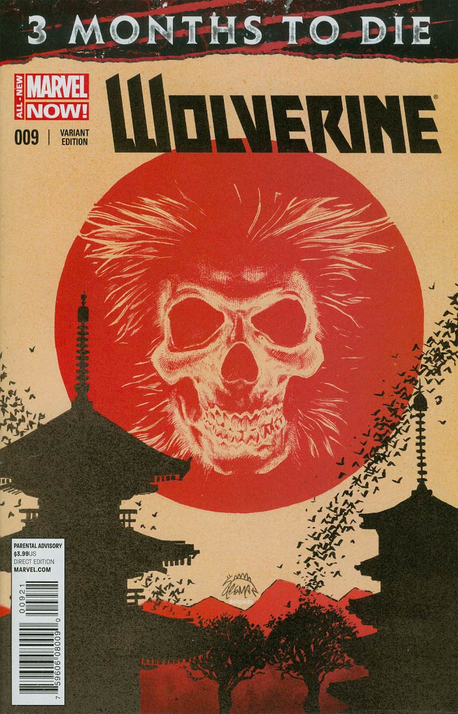 Wolverine Vol 6 #9 Cover B Incentive Ryan Stegman Variant Cover (3 Months To Die Part 2)