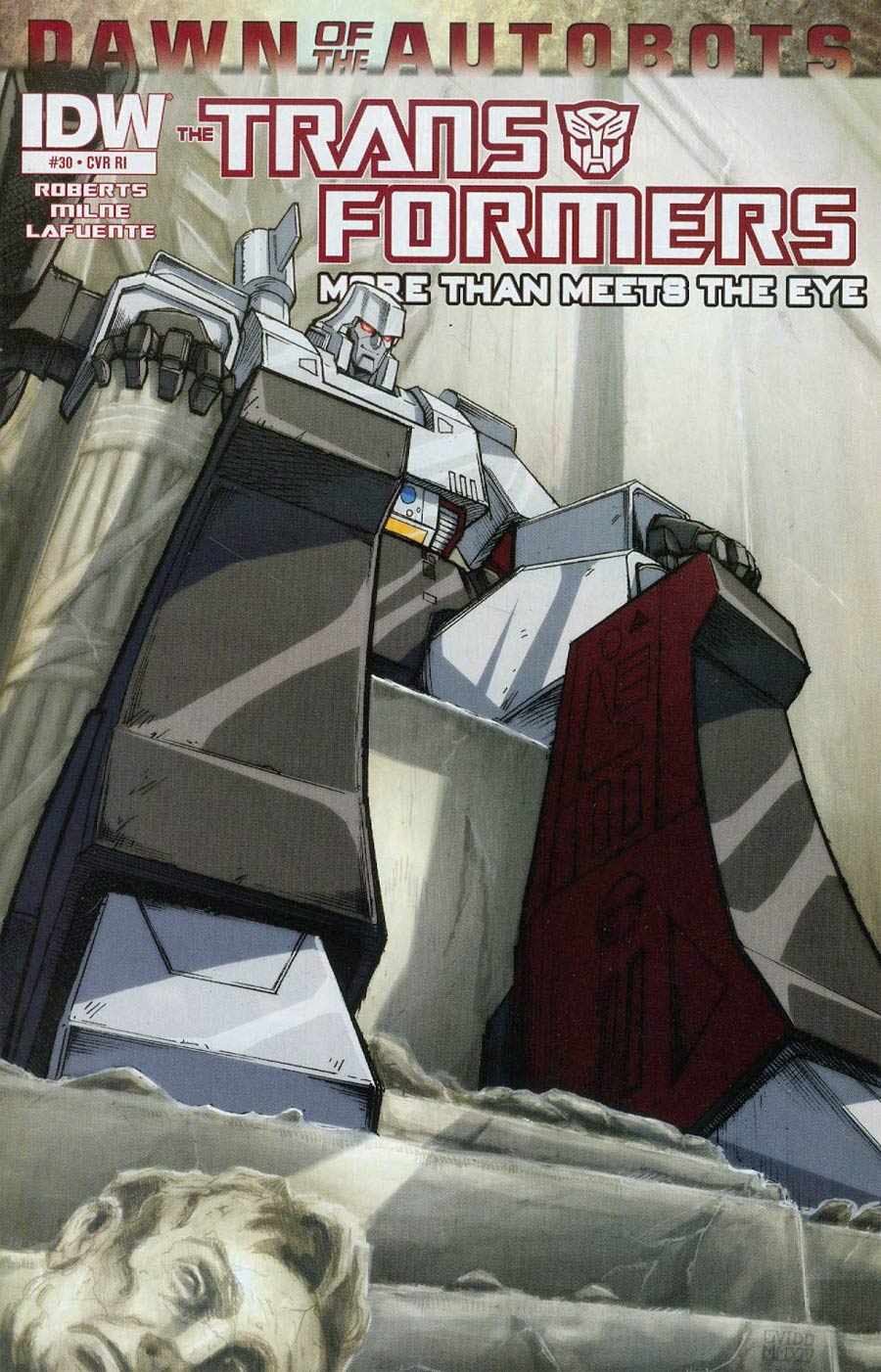 Transformers More Than Meets The Eye #30 Cover C Incentive Guido Guidi 30th Anniversary Variant Cover (Dawn Of The Autobots Tie-In)