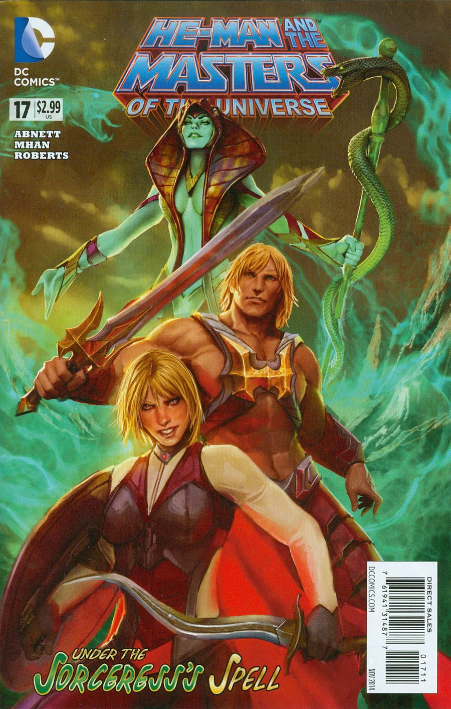 He-Man And The Masters Of The Universe Vol 2 #17