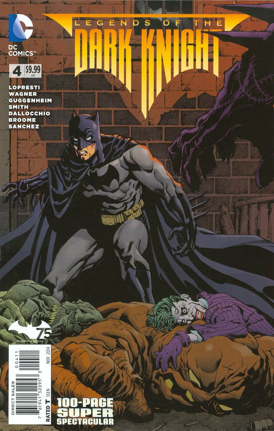 Legends Of The Dark Knight 100-Page Super Spectacular #4