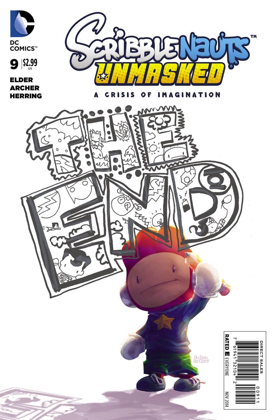 Scribblenauts Unmasked Crisis Of Imagination #9