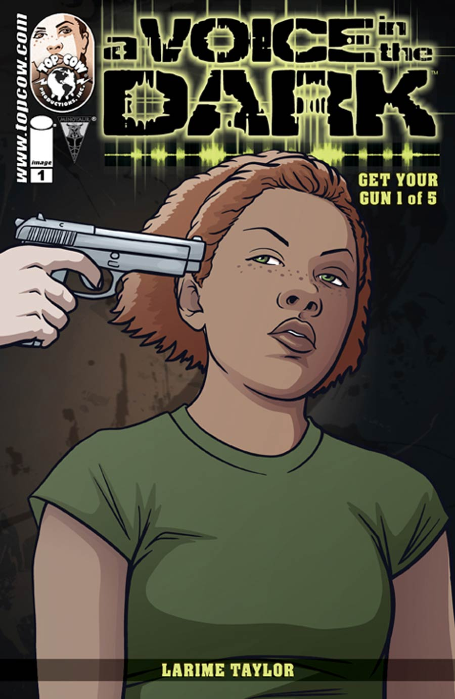 A Voice In The Dark Get Your Gun #1 Cover A Regular Larime Taylor & Sylv Taylor Cover