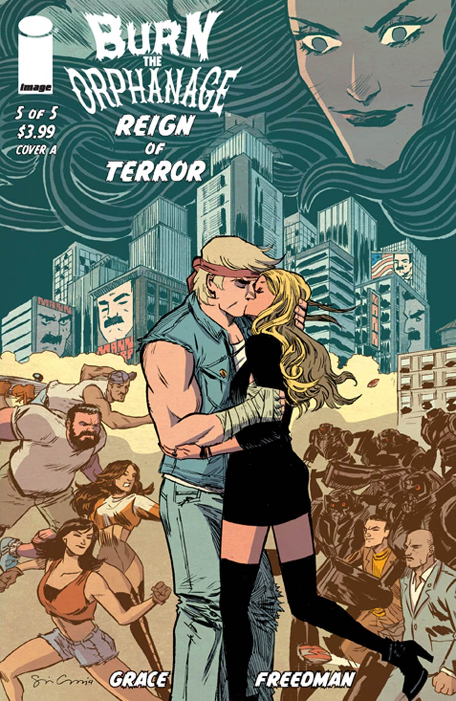 Burn The Orphanage Reign Of Terror #5 Cover A Regular Sina Grace Cover