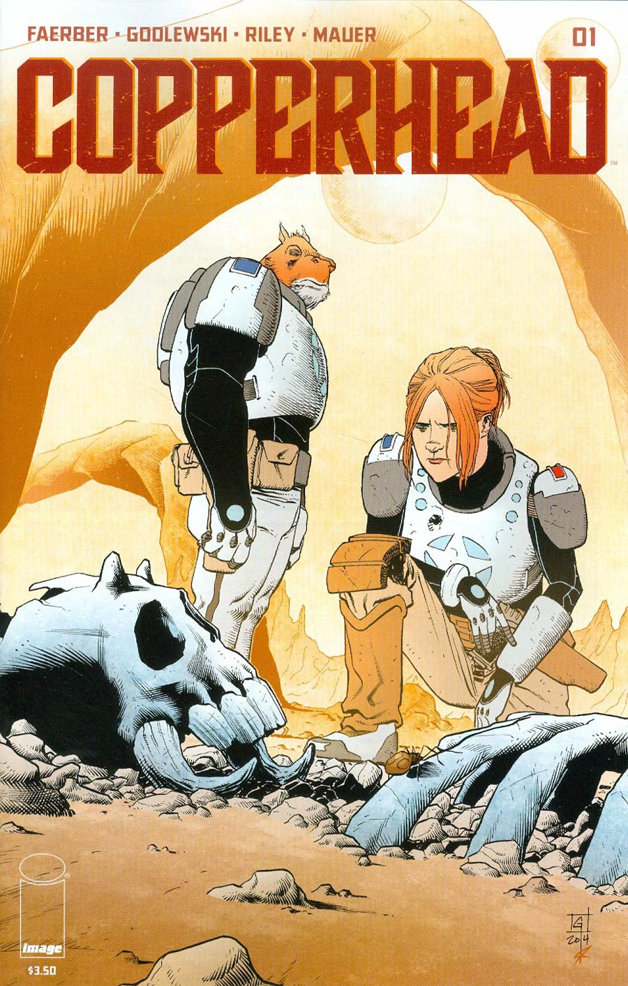 Copperhead #1 Cover A 1st Ptg