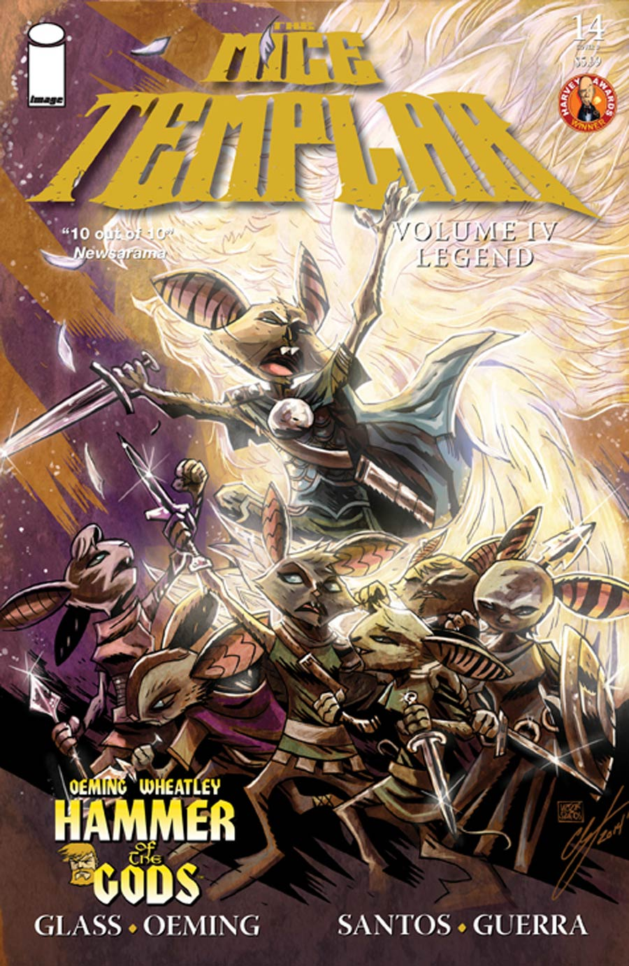 Mice Templar Vol 4 Legend #14 Cover B Variant Victor Santos & Chandra Free Cover