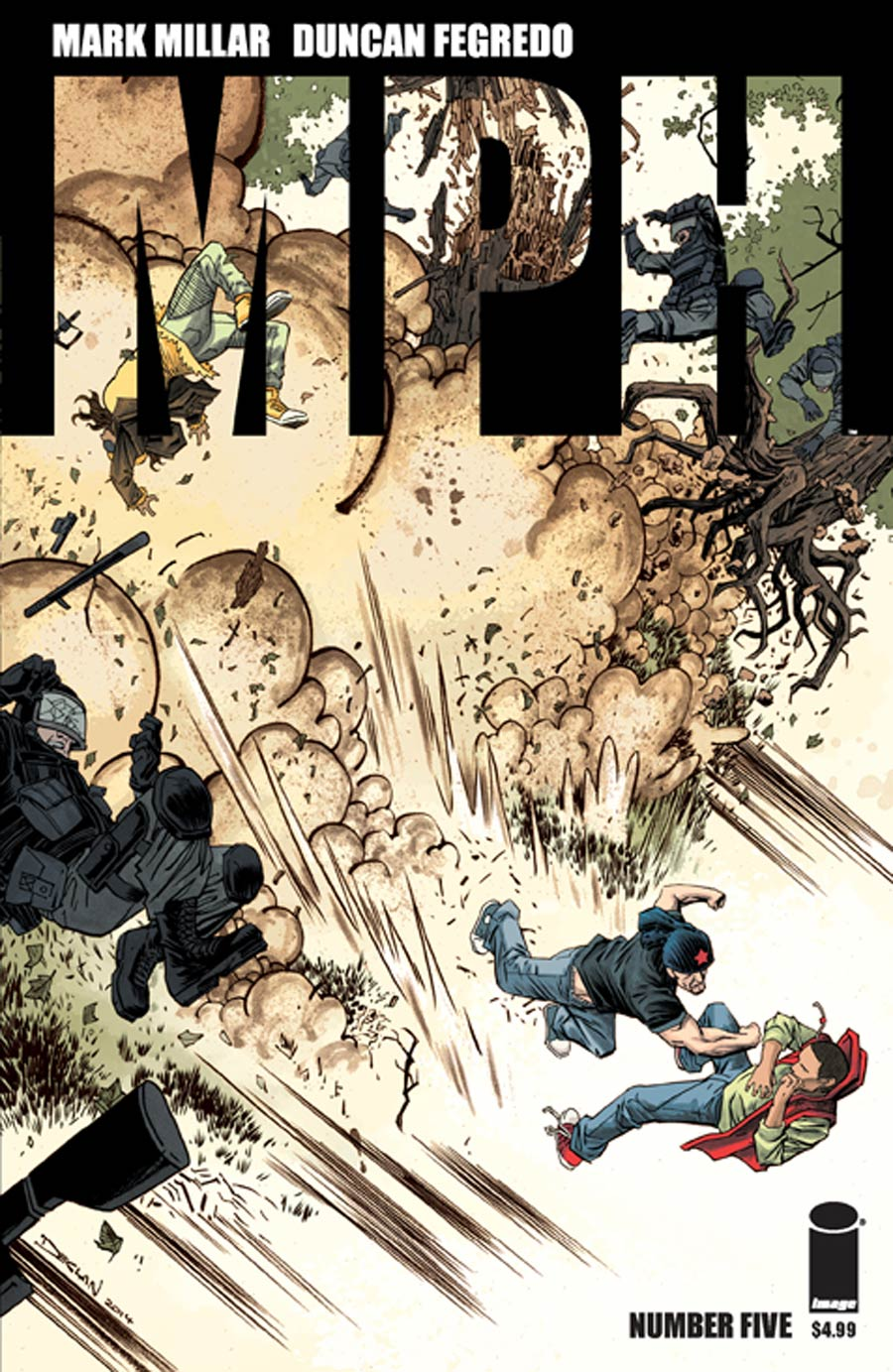 MPH #5 Cover B Variant Declan Shalvey Cover