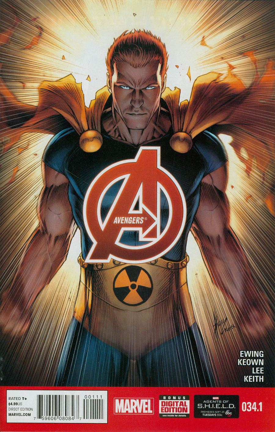 Avengers Vol 5 #34.1 Cover A Regular Dale Keown Cover