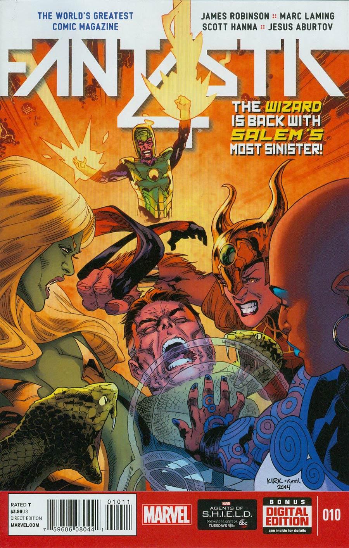 Fantastic Four Vol 5 #10