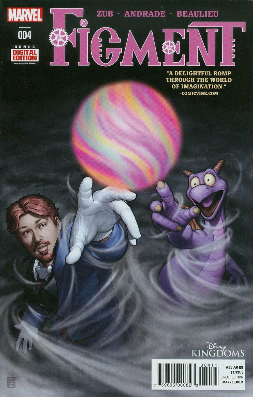 Disney Kingdoms Figment #4 Cover A 1st Ptg
