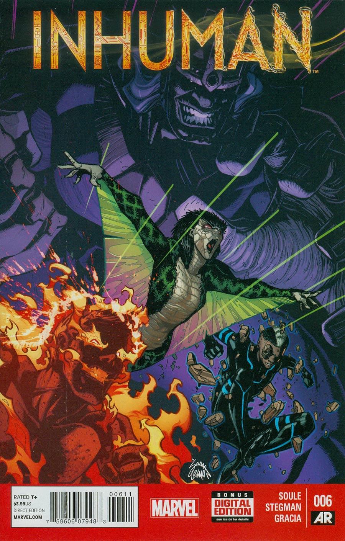 Inhuman #6 Cover A Regular Ryan Stegman Cover