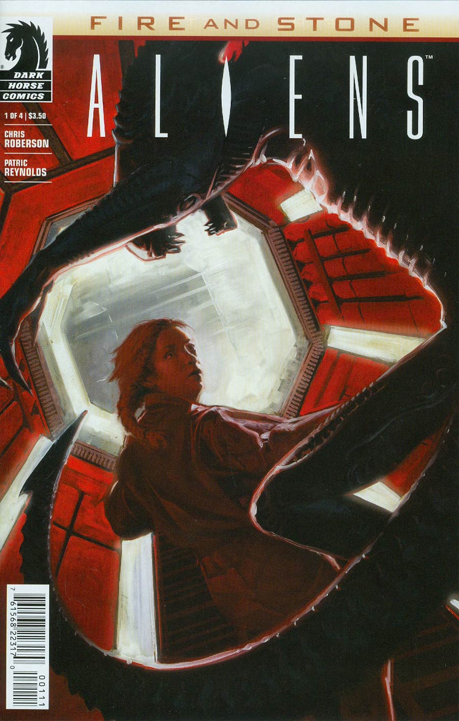 Aliens Fire And Stone #1 Cover A Regular David Palumbo Cover