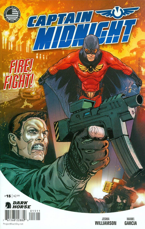 Captain Midnight Vol 2 #15