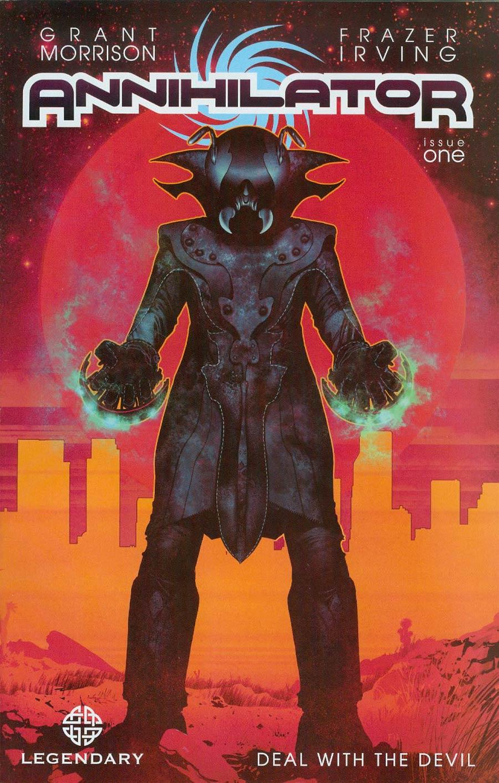 Annihilator #1 Cover A 1st Ptg