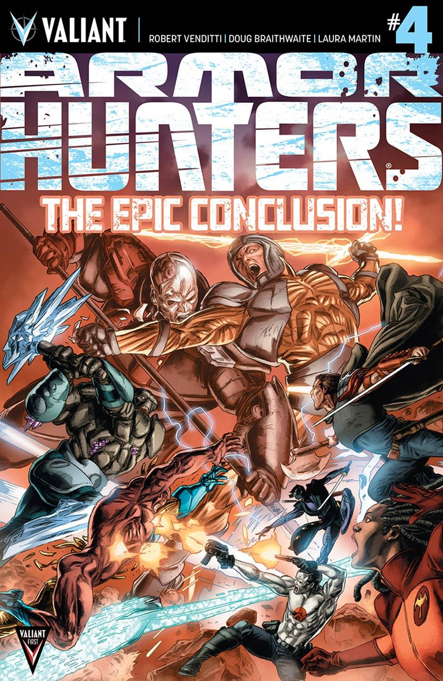 Armor Hunters #4 Cover A Regular Doug Braithwaite Cover