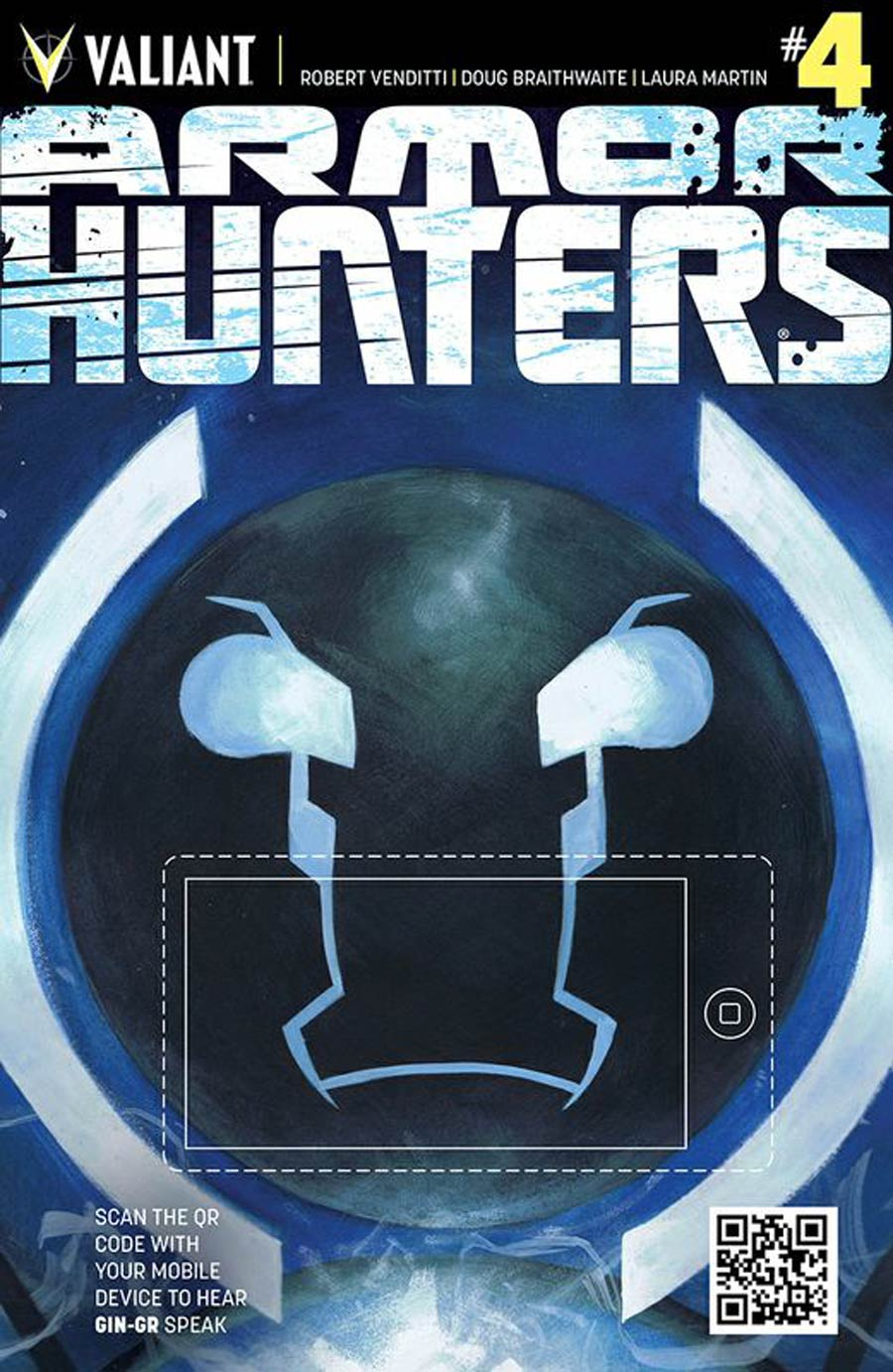 Armor Hunters #4 Cover B Variant Tom Fowler QR Voice Cover