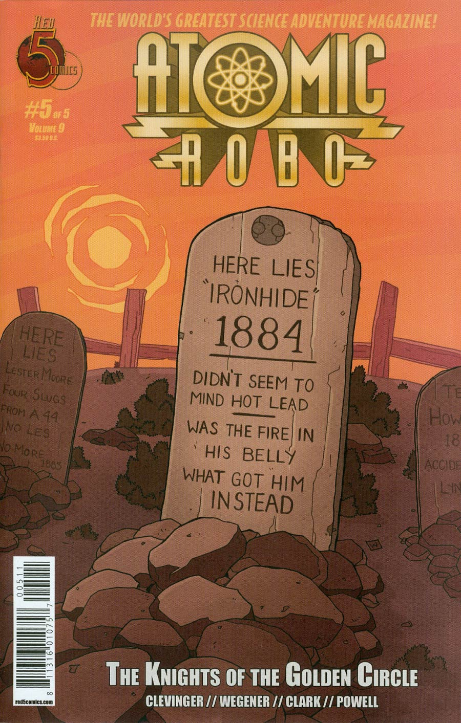 Atomic Robo And The Knights Of The Golden Circle #5