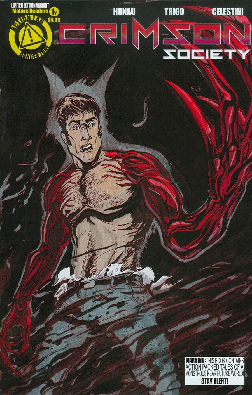 Crimson Society #1 Cover B Variant Daniel Logan Cover