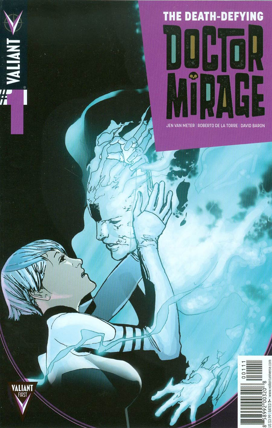 Death-Defying Doctor Mirage #1 Cover A 1st Ptg Regular Travel Foreman Cover